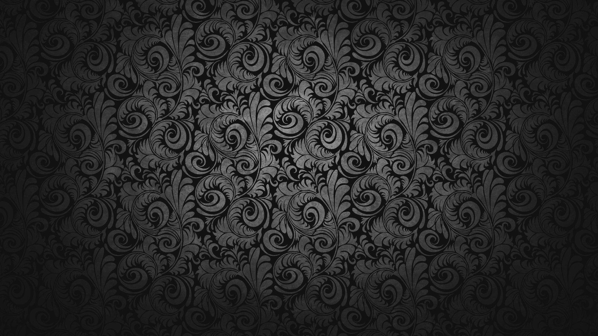 Black Abstract Hd Wallpaper 1080p