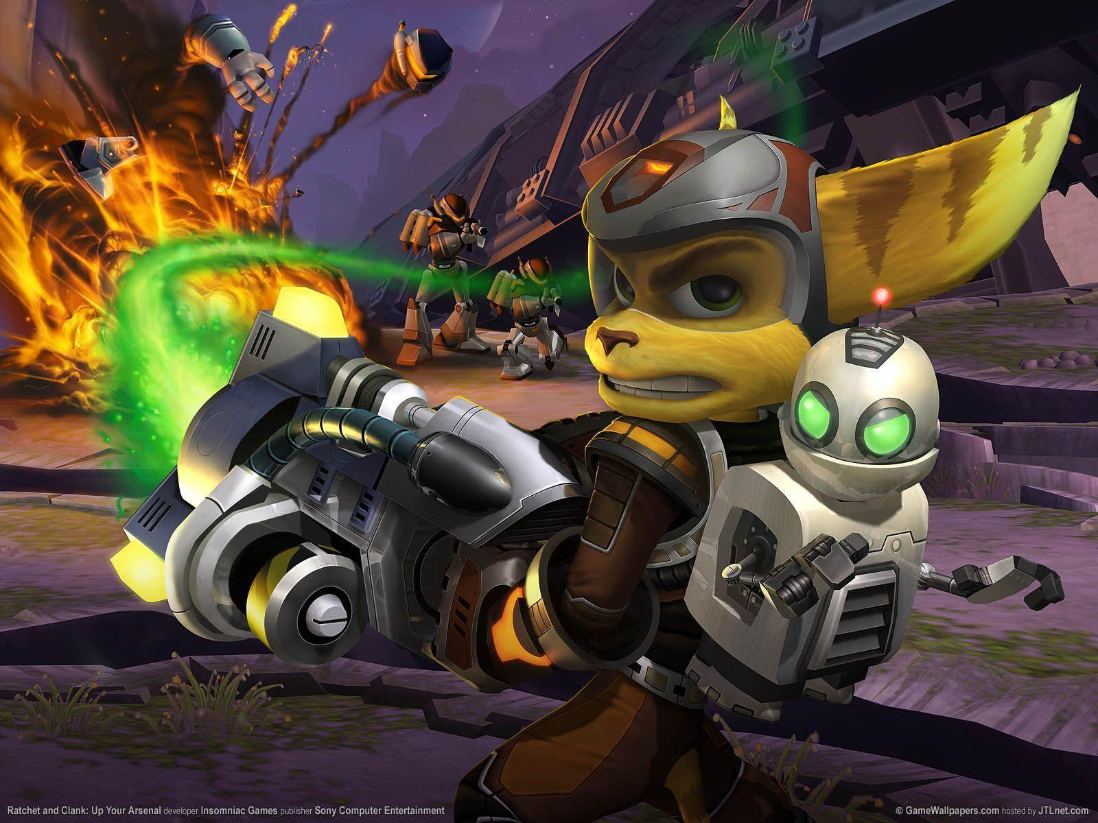 Ratchet And Clank Wallpapers Wallpaper Cave