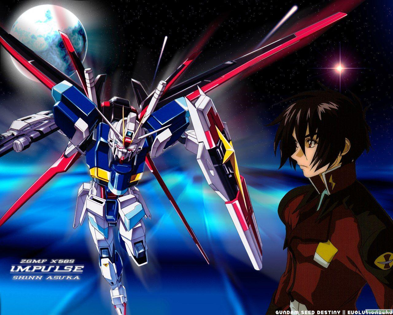 Mobile Suit Gundam SEED Destiny Wallpapers - Wallpaper Cave