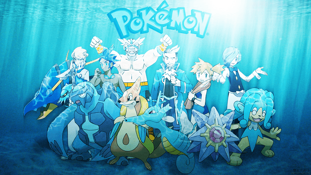 Water pokemon wallpapers wallpaper cave for All types of water