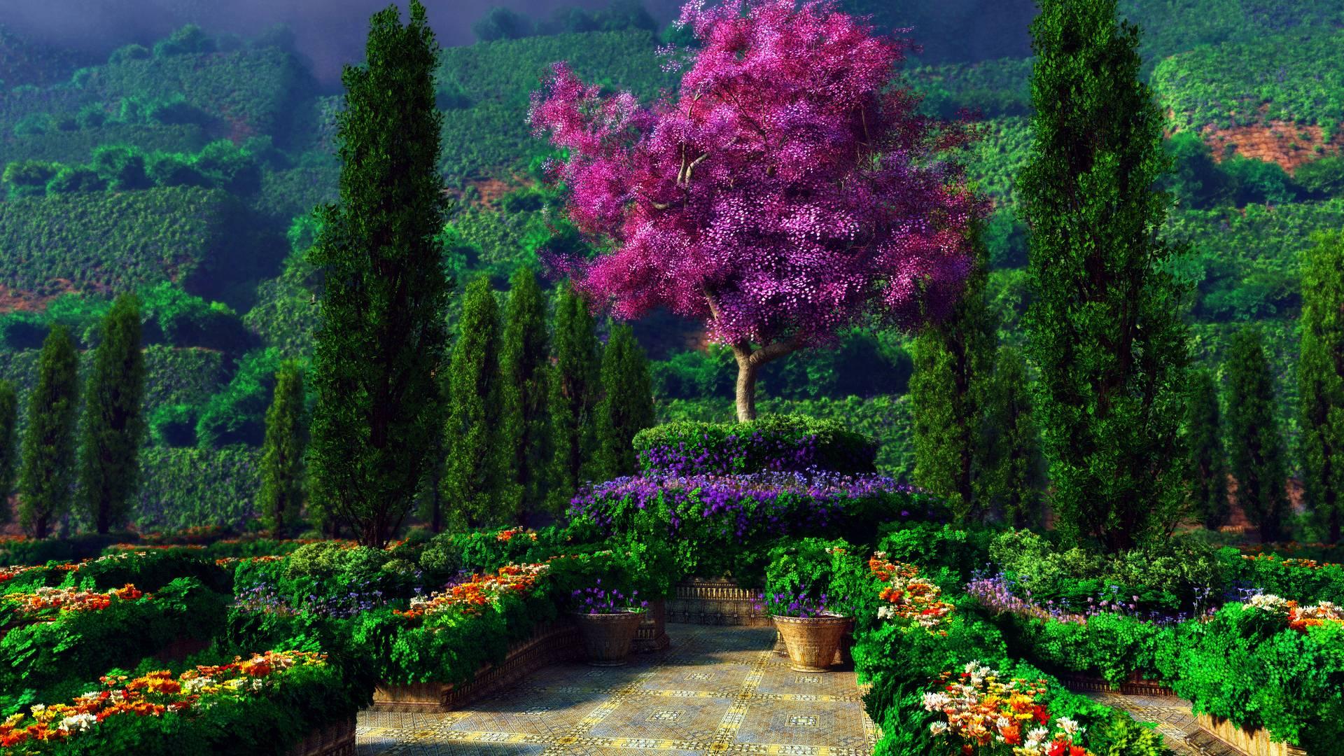 Wallpaper download garden - 1399391 Jpg