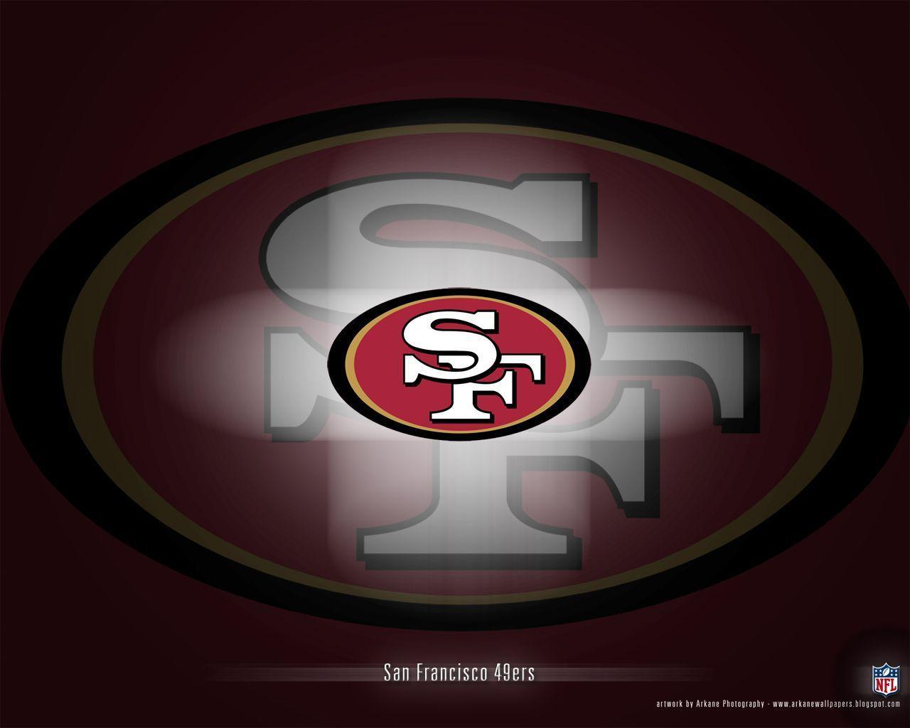 san francisco 49ers logo wallpaper | Paon The Fly