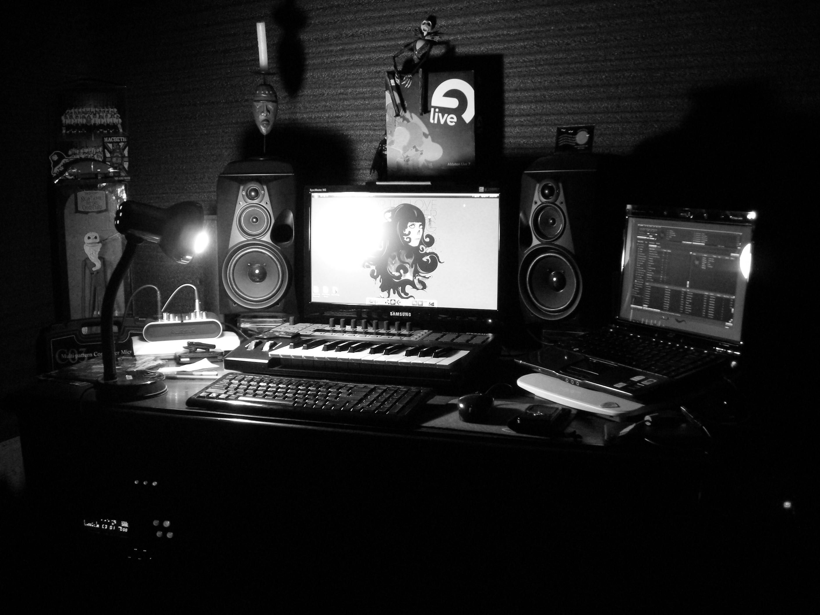 Wallpapers For Home Recording Studio Wallpaper