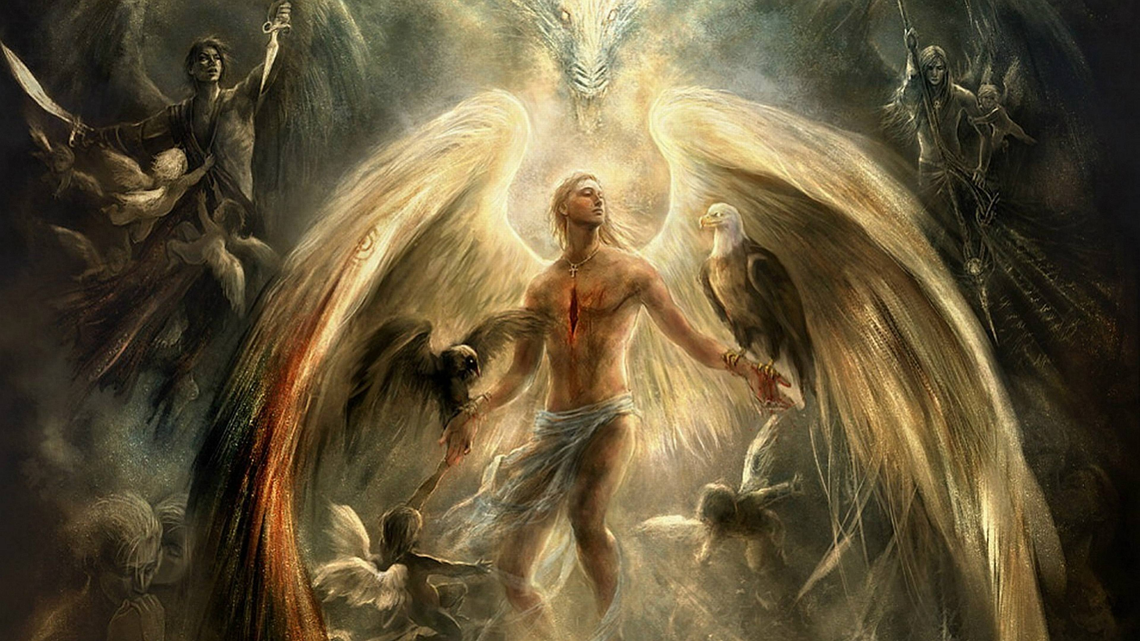 Wallpapers Of Angels Wallpaper Cave