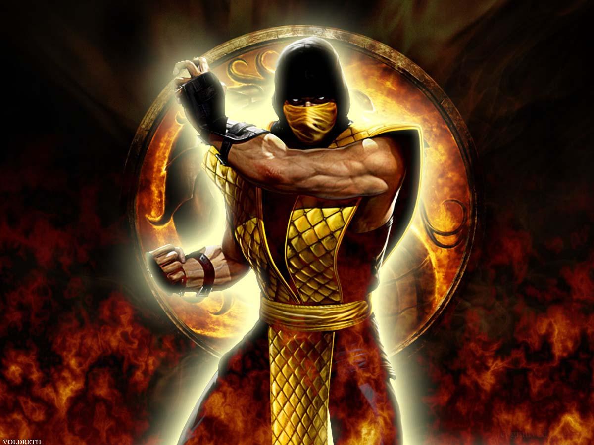 Mortal Kombat Scorpion Wallpapers Wallpaper Cave