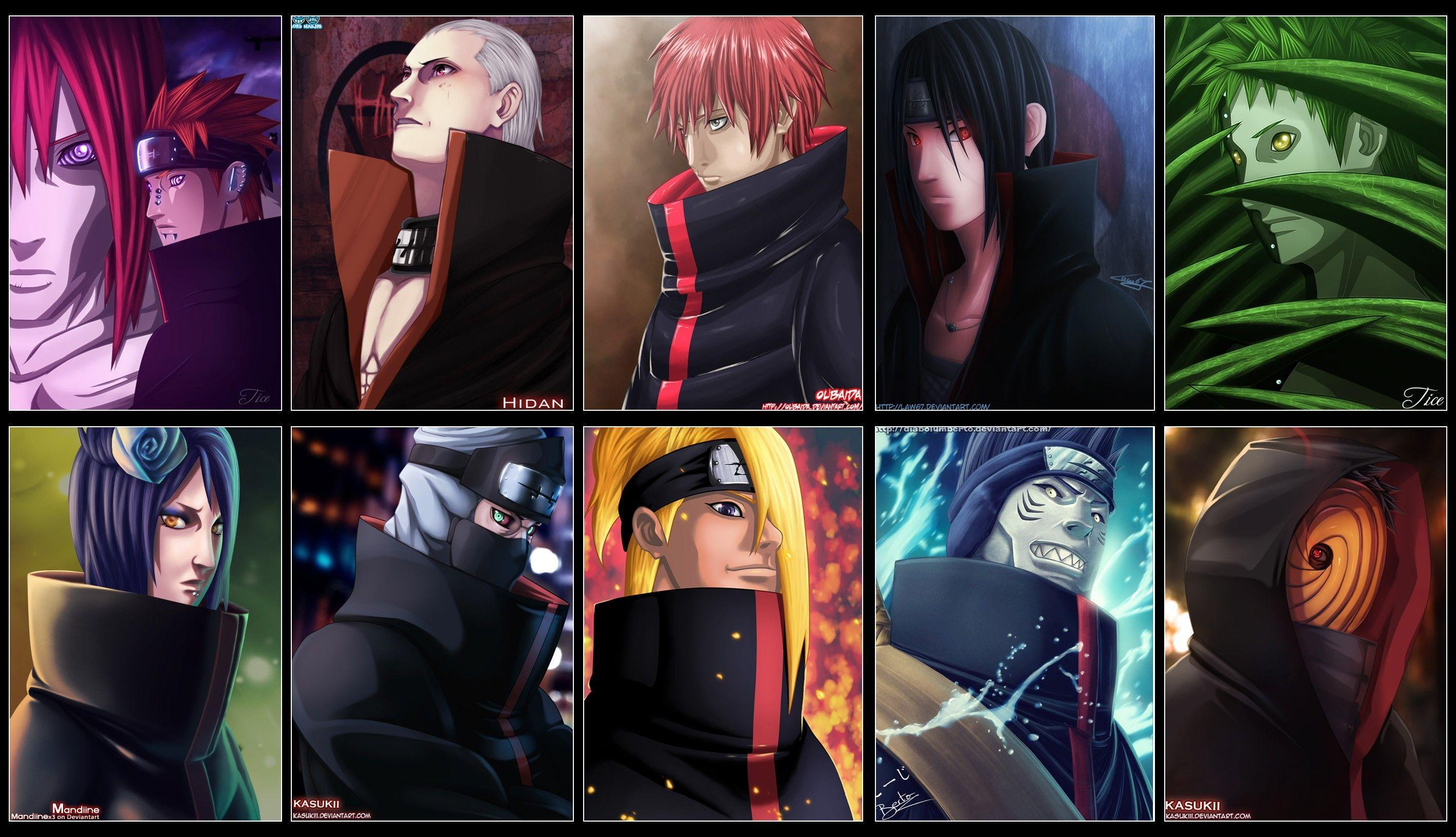 Download Naruto Wallpaper Akatsuki HD Desktop #8297 (612) Full ...