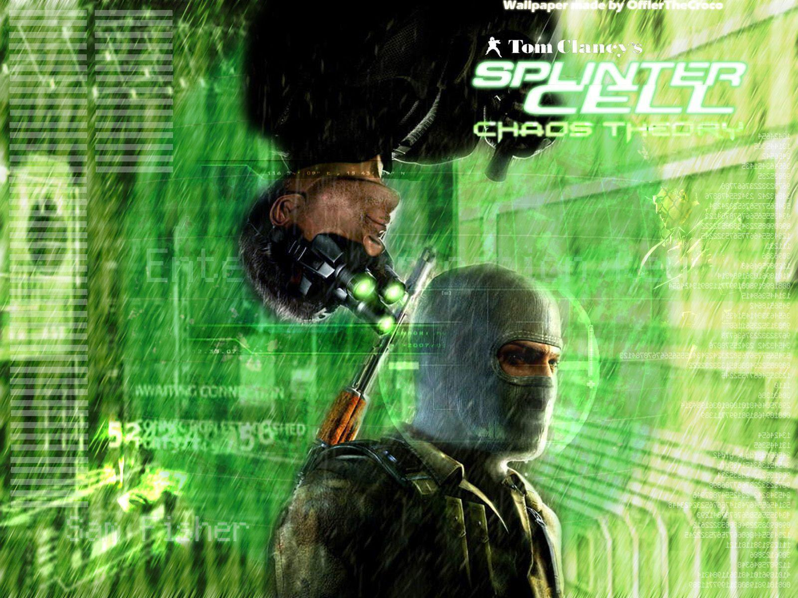 Splinter Cell Chaos Theory Wallpapers - Wallpaper Cave