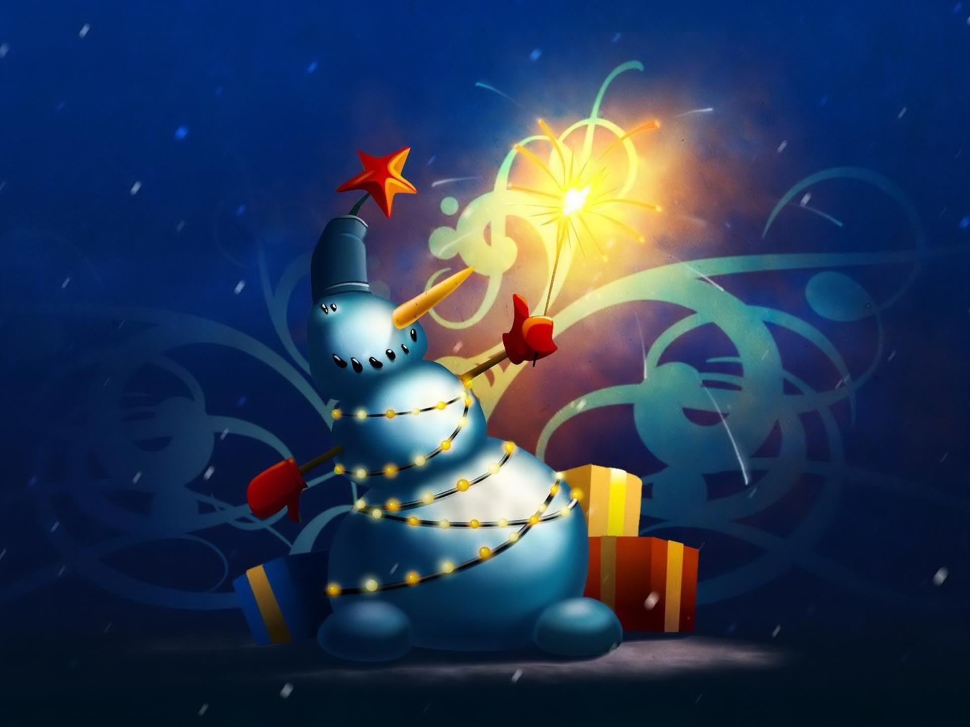 Desktop Wallpapers · Gallery · Miscellaneous · Christmas snowman