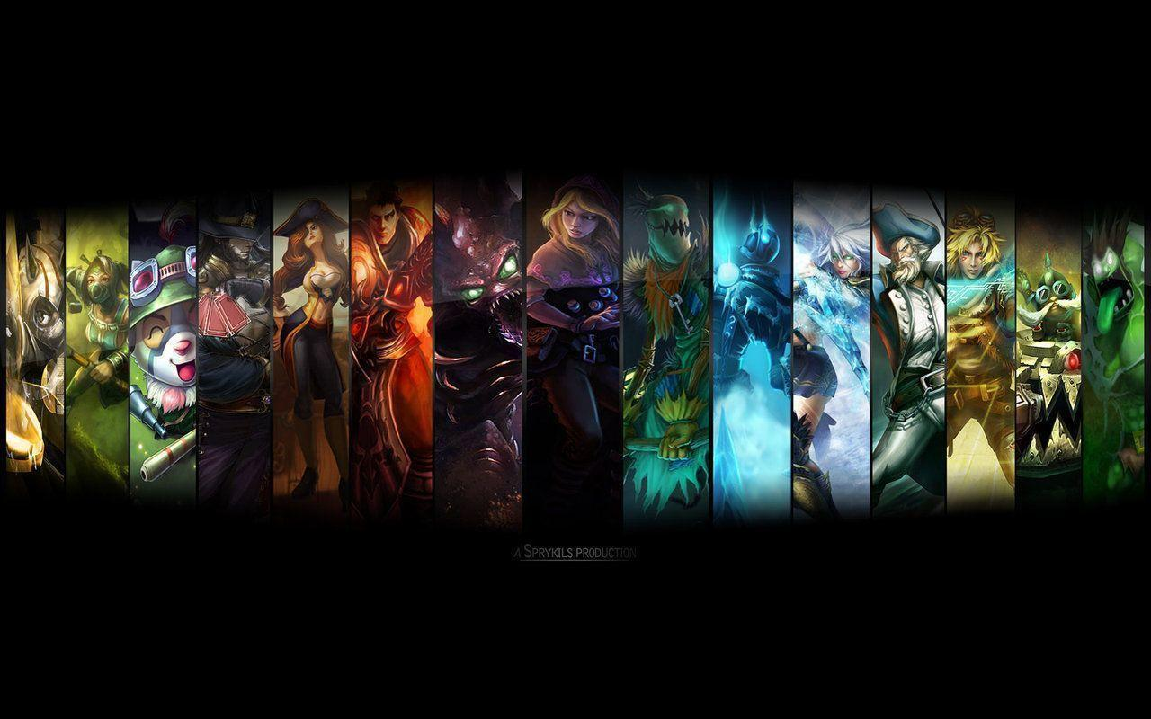 Gaming Wallpapers Hd 36 Find Hd Wallpapers For Free: Lol Backgrounds For Desktops