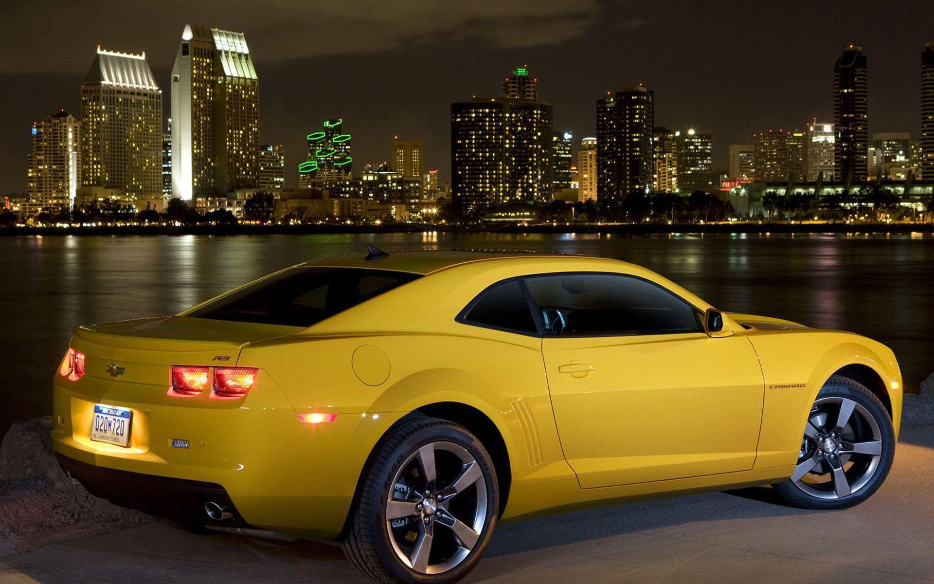 Yellow Car Chevrolet Camaro Wallpaper | High Definition Wallpapers ...