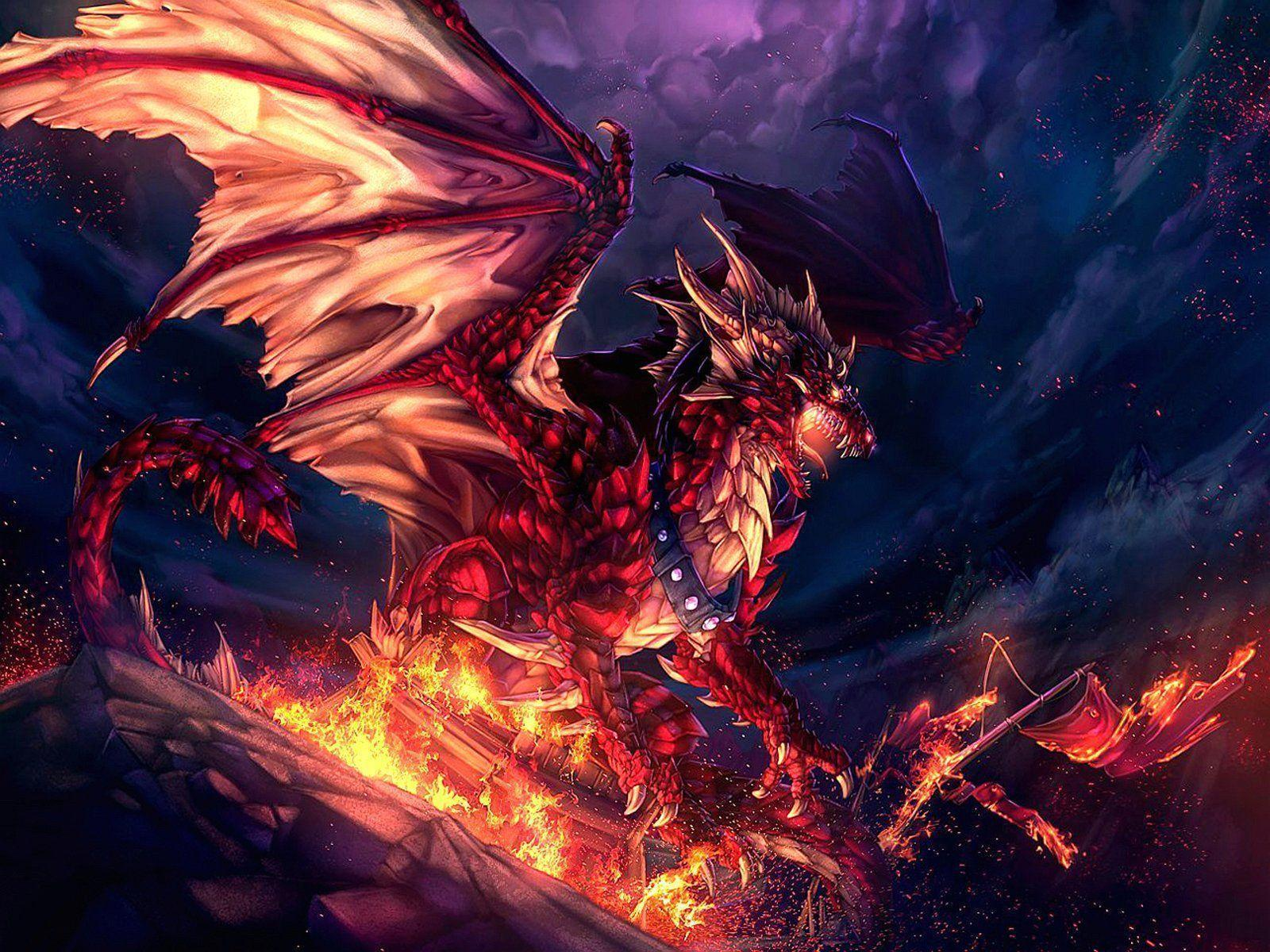 Red Dragon Wallpapers - Wallpaper Cave