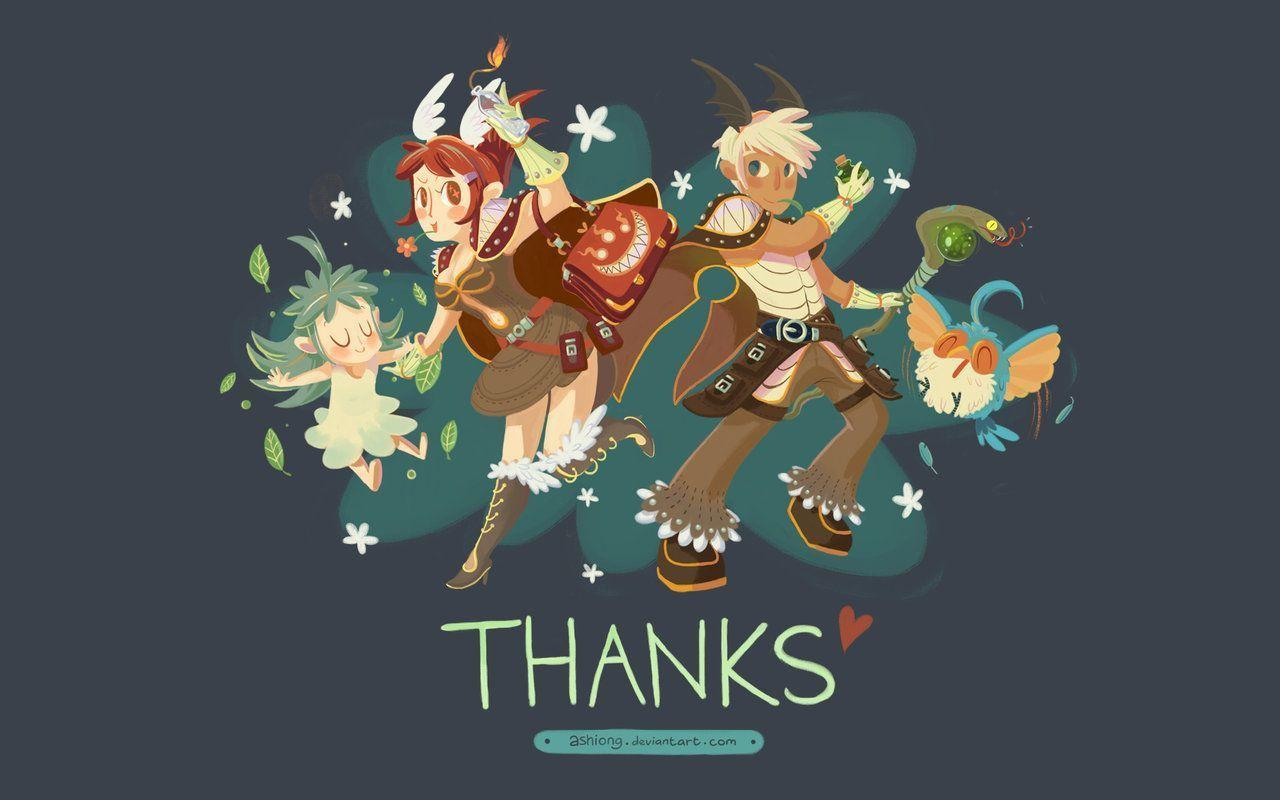 RO Wallpaper: Thank You by ashiong on DeviantArt