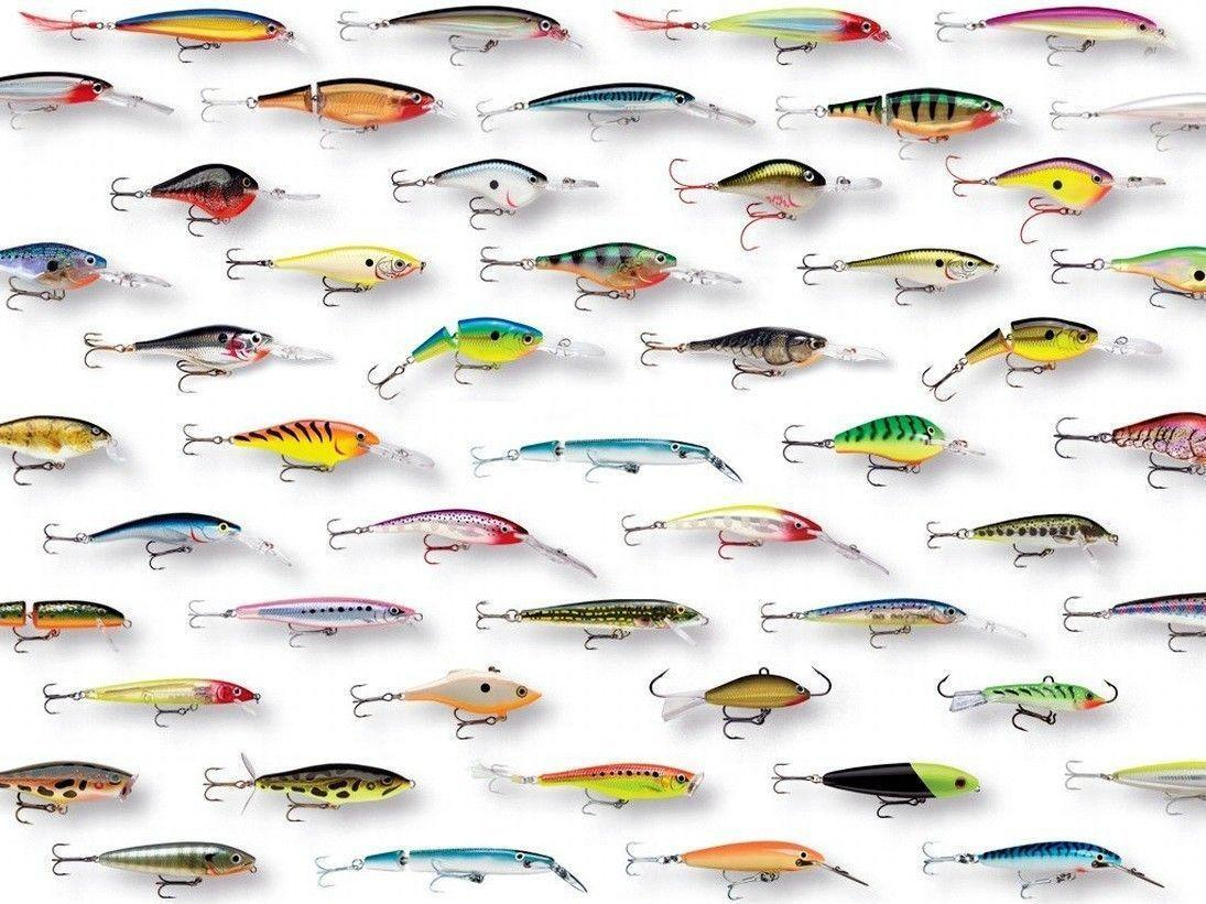 Fishing wallpapers wallpaper cave for Types of fishing lures