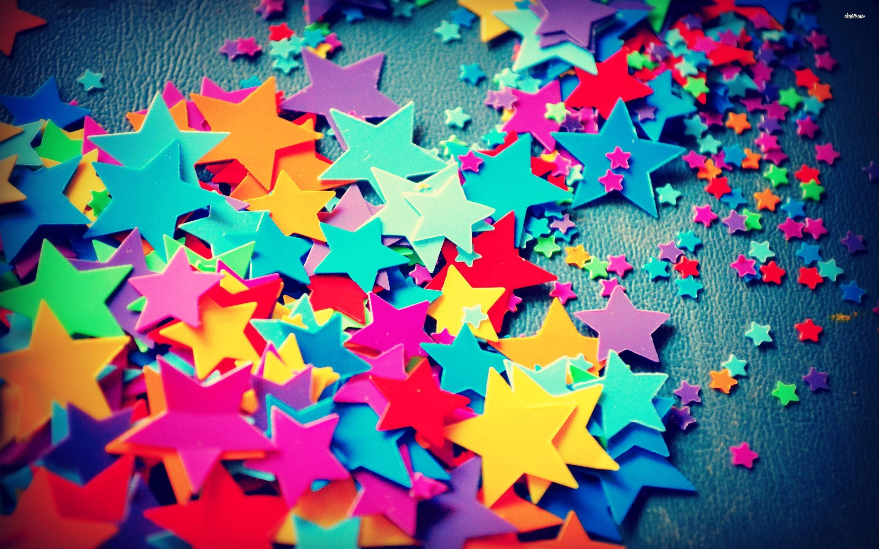 Colorful star wallpapers wallpaper cave for Colourful wallpaper for walls