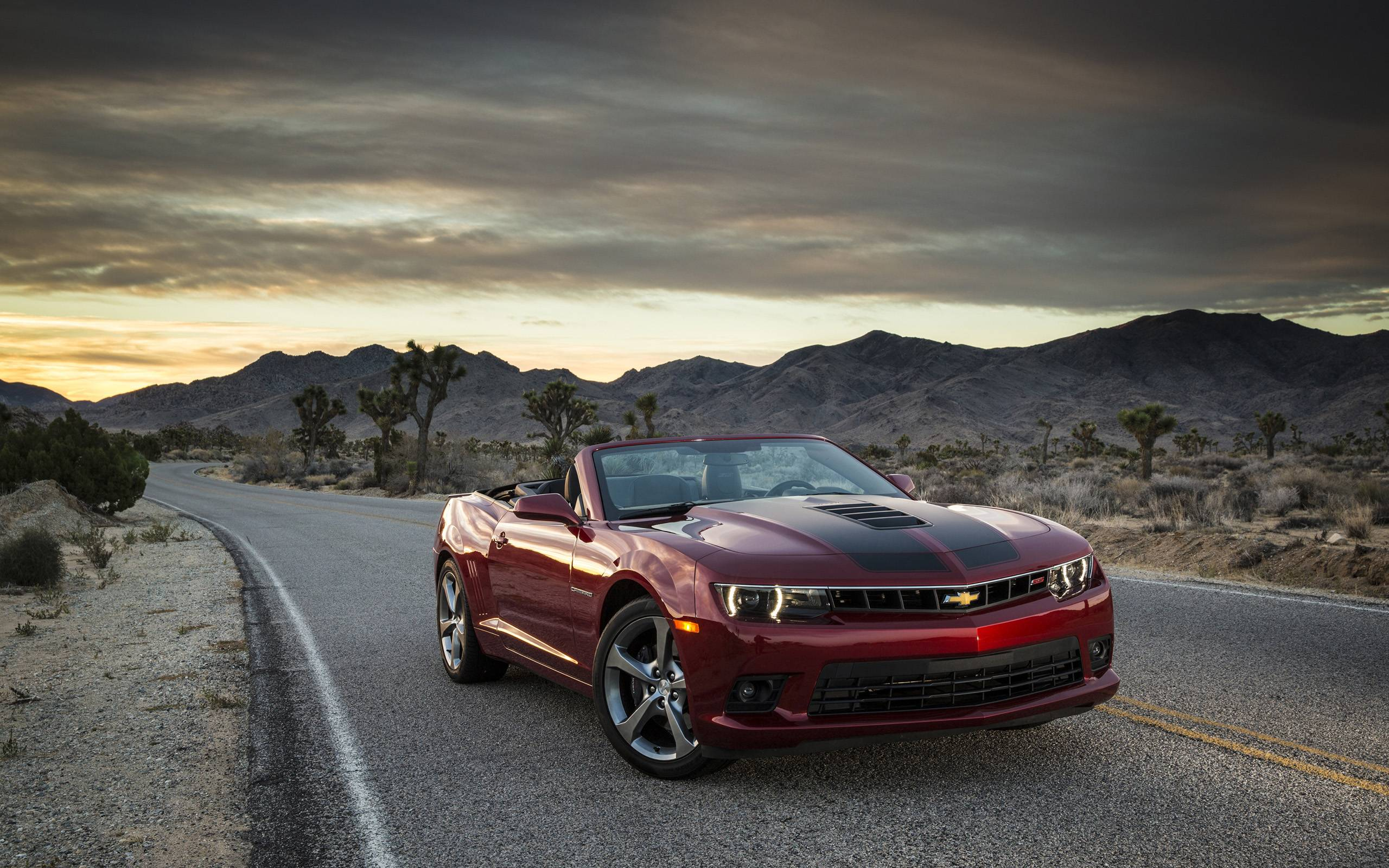 2015 Chevrolet Camaro SS Convertible Wallpaper