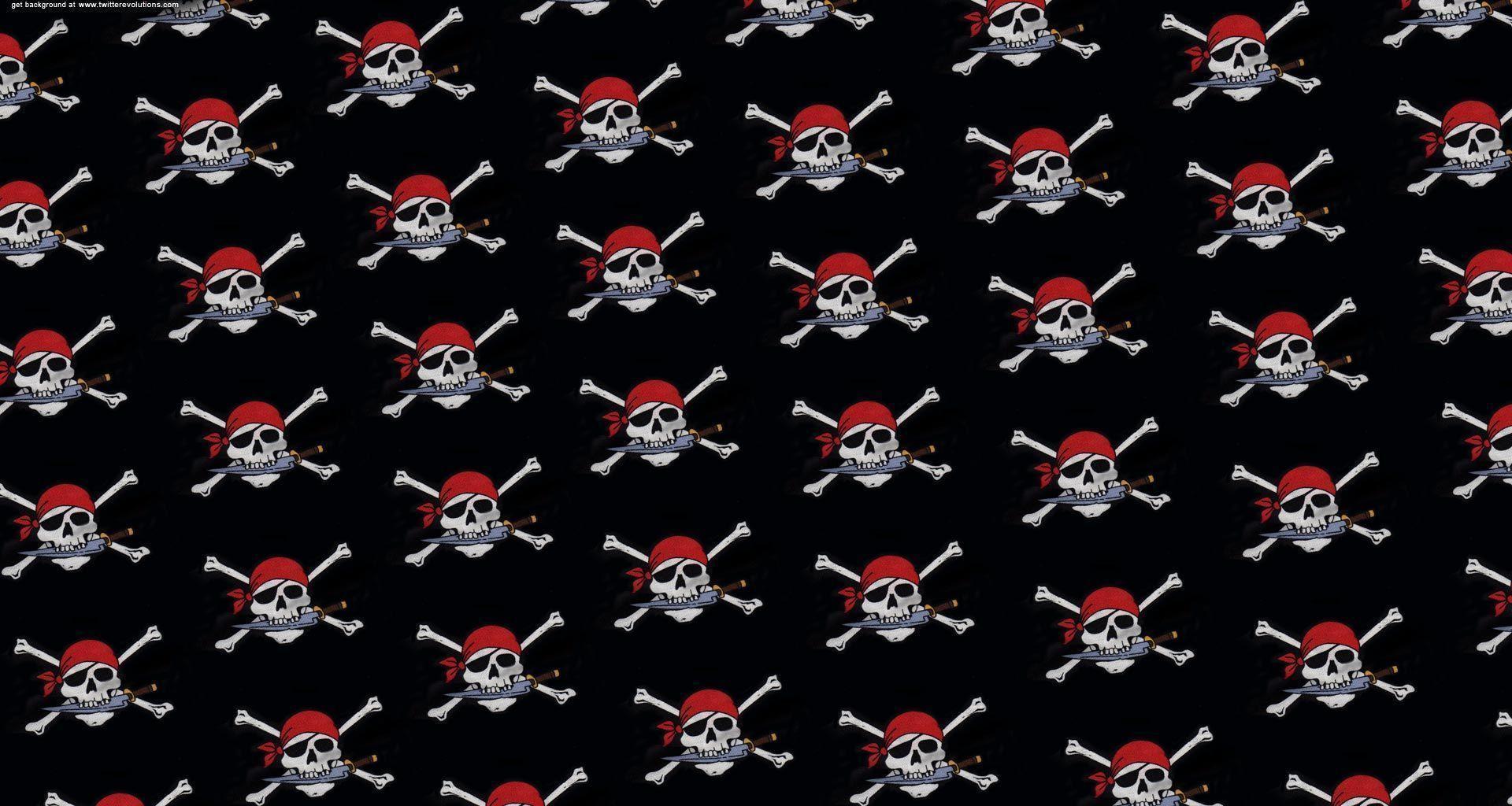 wallpaper skull bones pirate - photo #31