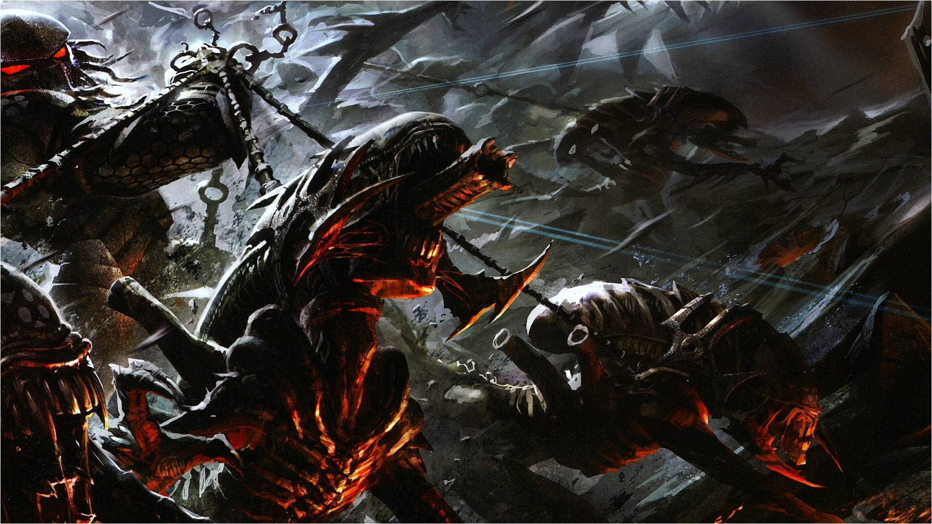 Alien Vs Predator Wallpaper Hd Alien Vs Predat...