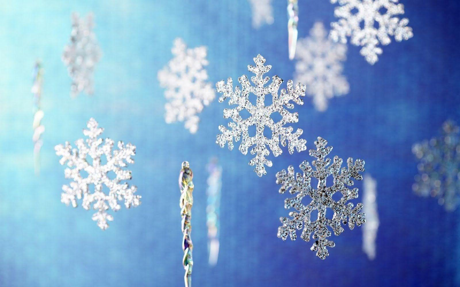 Christmas snowflakes clip art pictures and backgrounds wallpapers