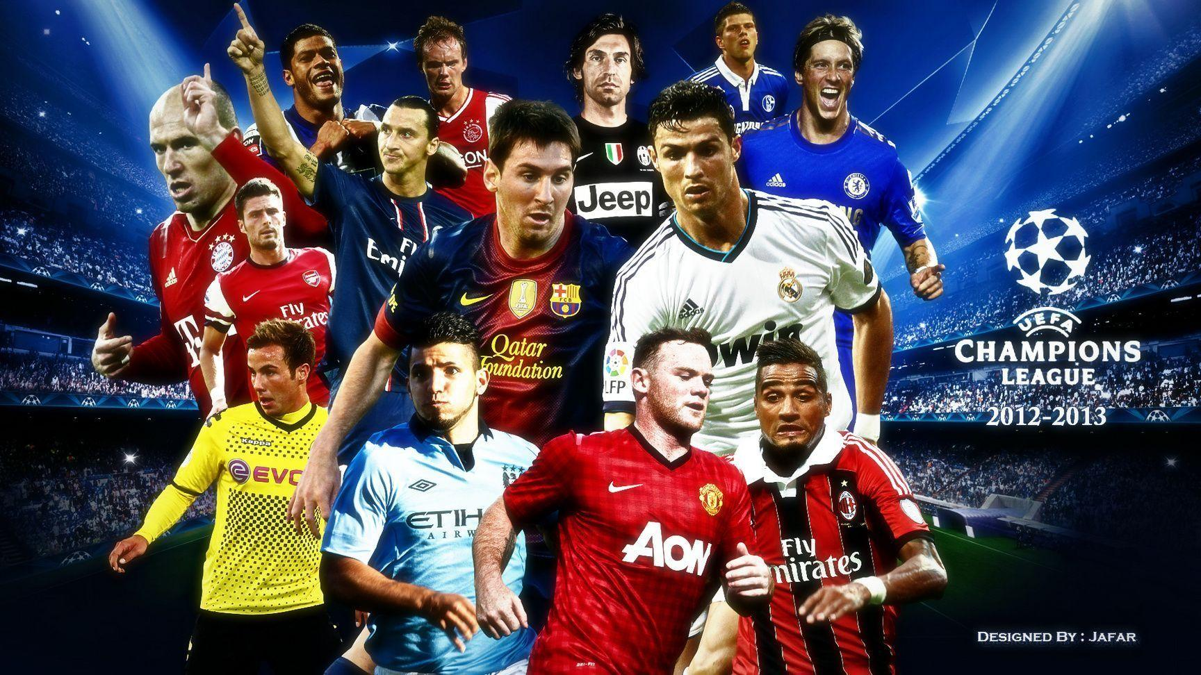 A Collections Team UEFA CHAMPIONS LEAGUE #3841 Wallpaper ...