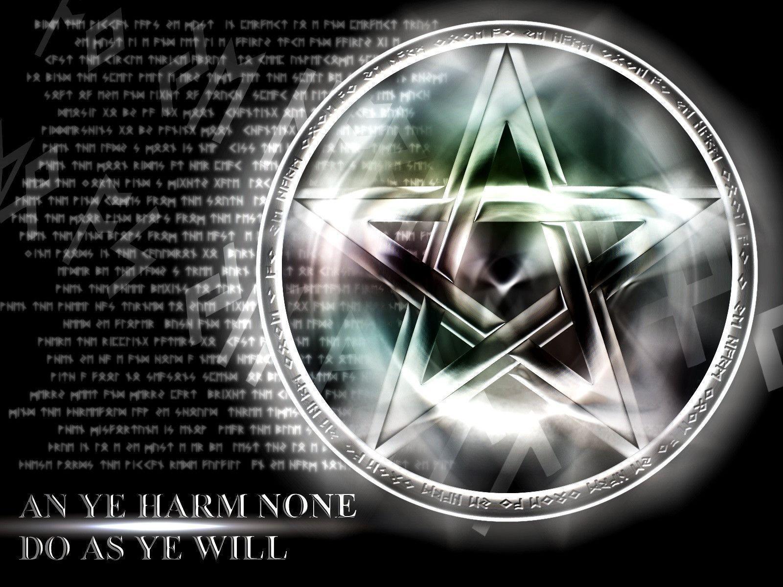 wiccan pentagram wallpaper - photo #4