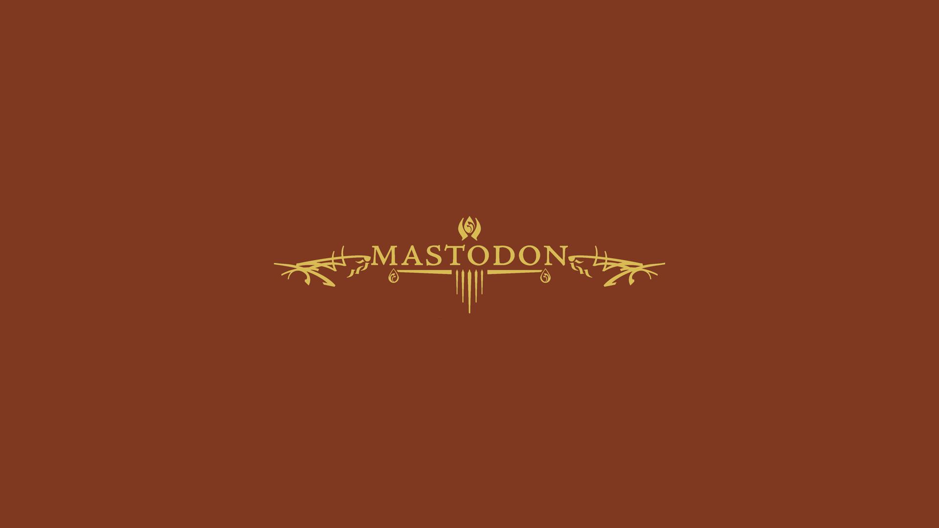 Mastodon Wallpaper