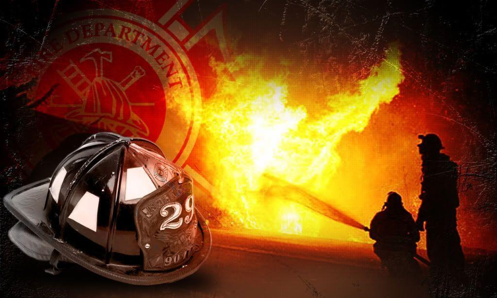 Firefighter Desktop Background Photo by shanemichaellouis .