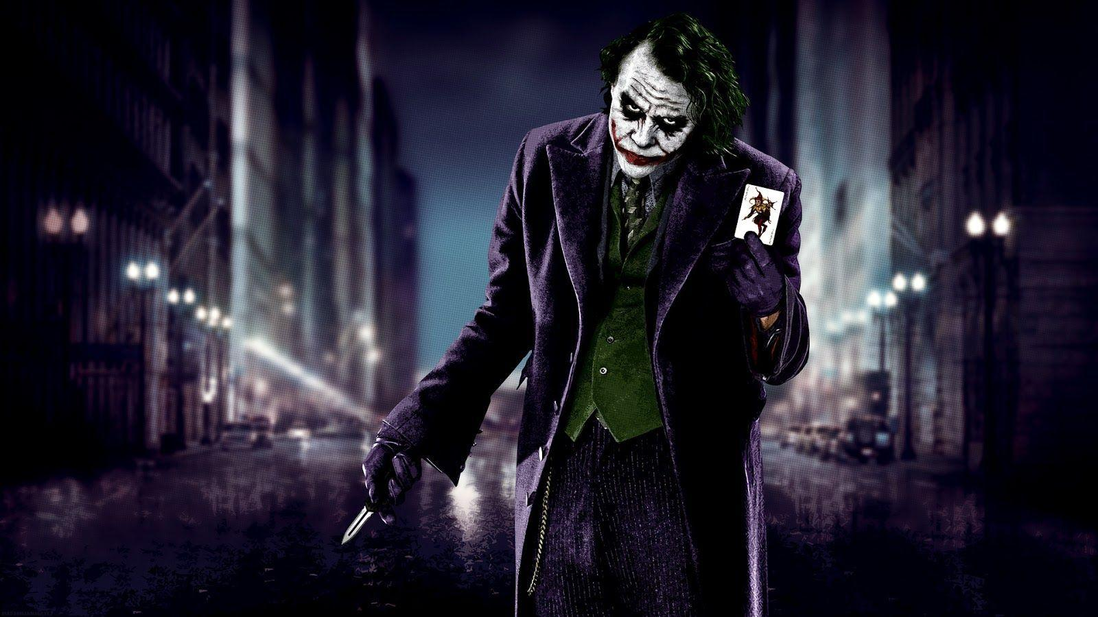 Heath Ledger Fan Club: Joker - Heath Ledger Wallpapers