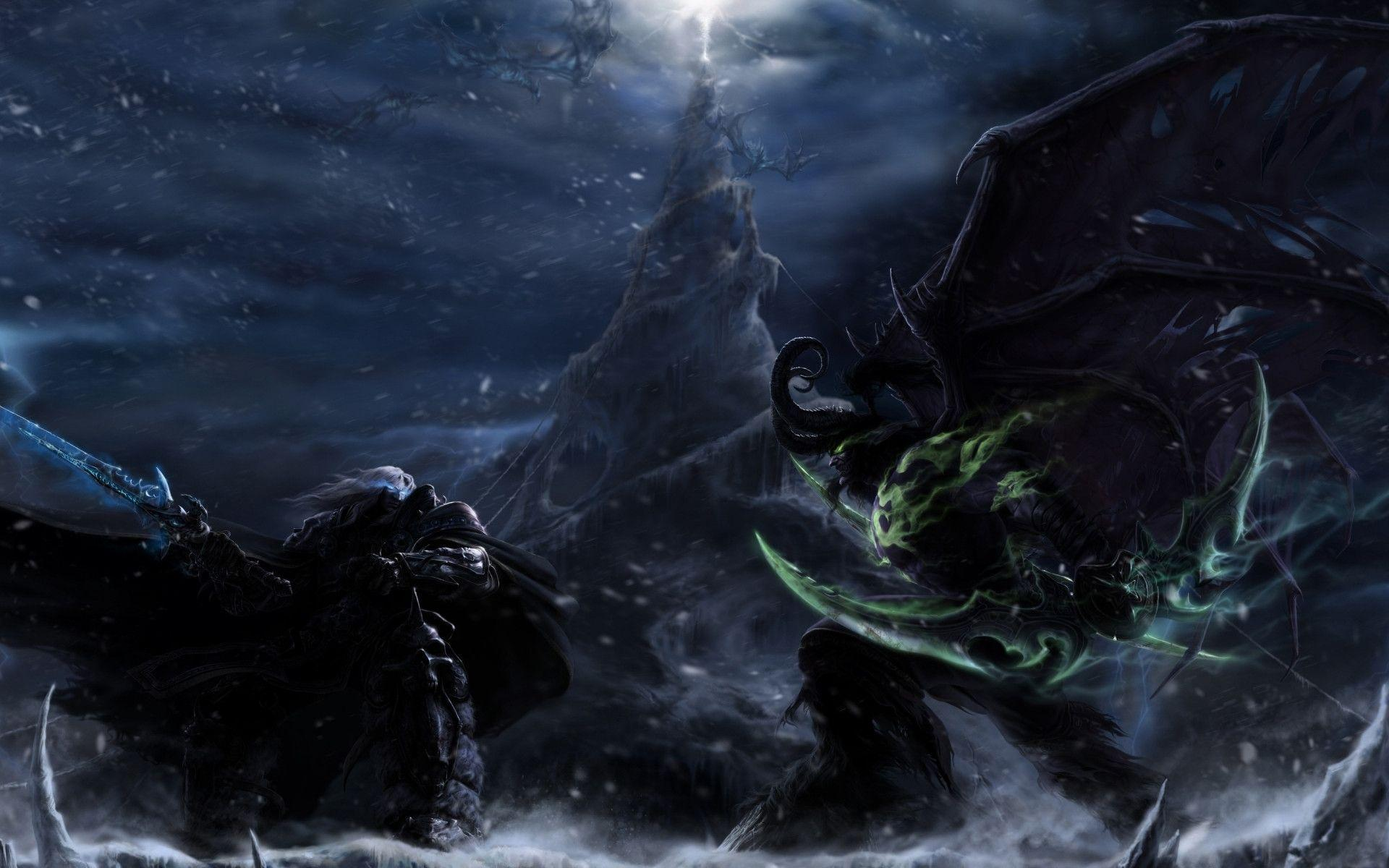 Illidan Moving Wallpaper - WallpaperSafari