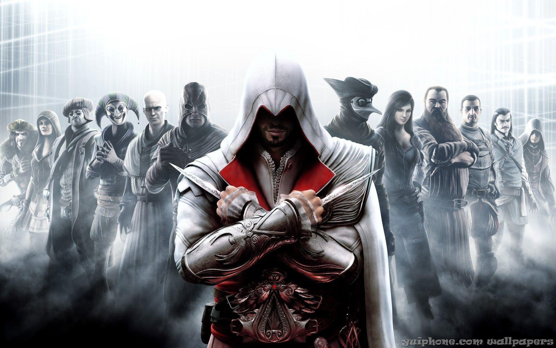 assassin's creed: brotherhood wallpapers - wallpaper cave