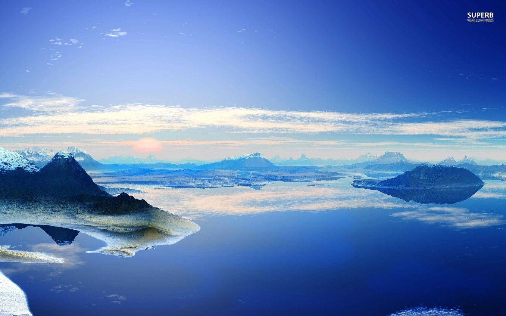 antarctica and clouds wallpaper - photo #27
