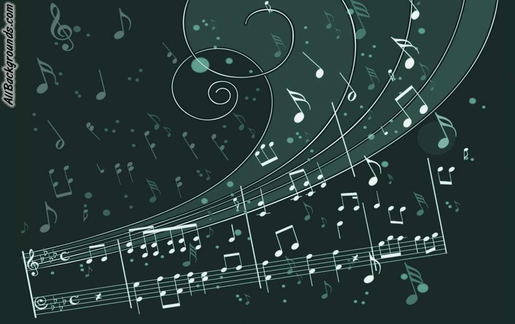 Awesome Music Notes Backgrounds