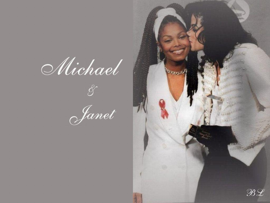 mik and jan - Michael and Janet Jackson Wallpaper (14014973) - Fanpop