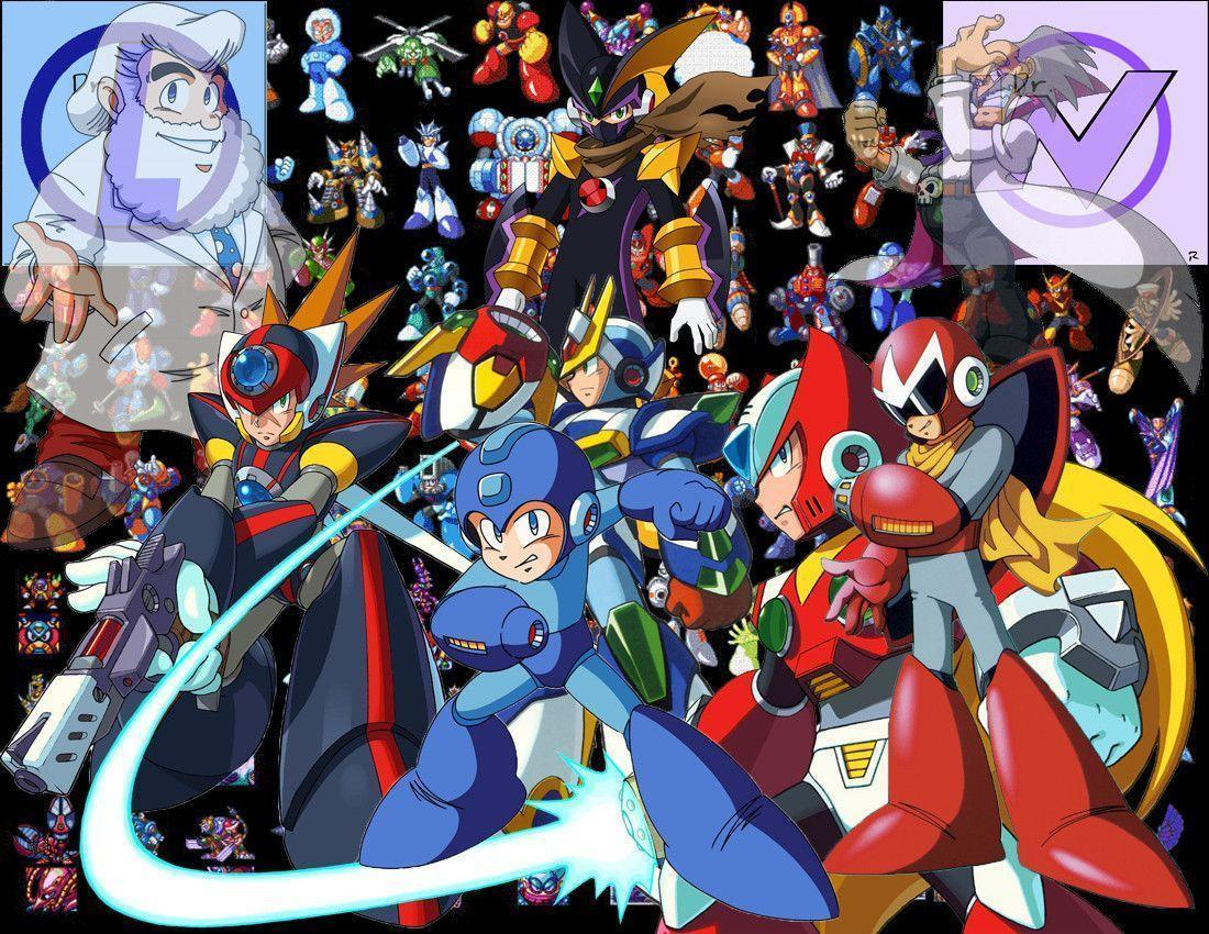 MegaMan Wallpapers by SUSTIC