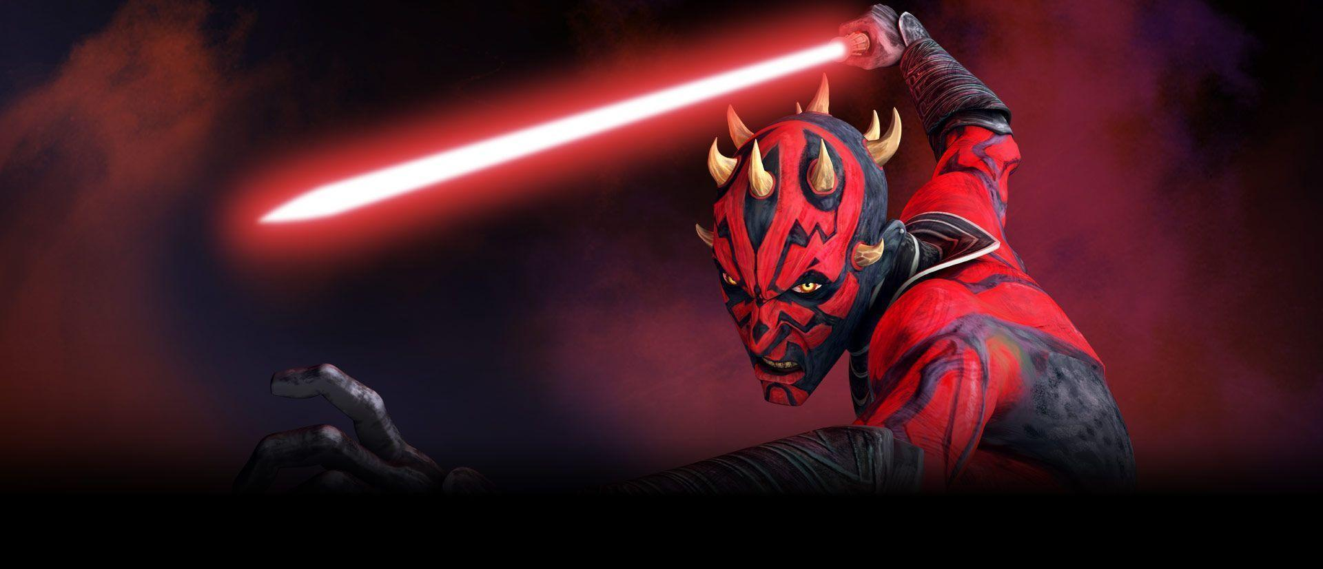 Image For > Darth Maul Clone Wars Wallpapers