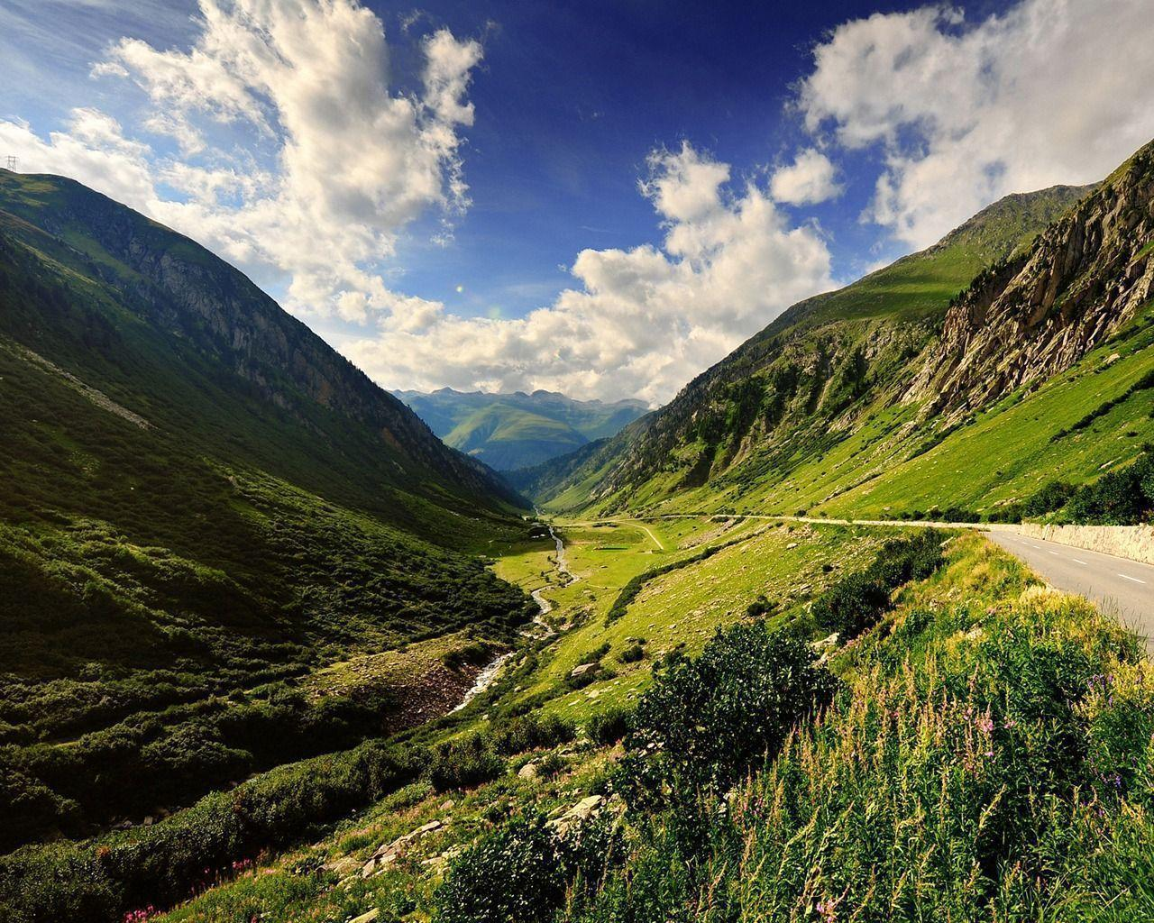 Furka Pass wallpaper | Swiss Alps wallpapers | HD Wallpapers Source