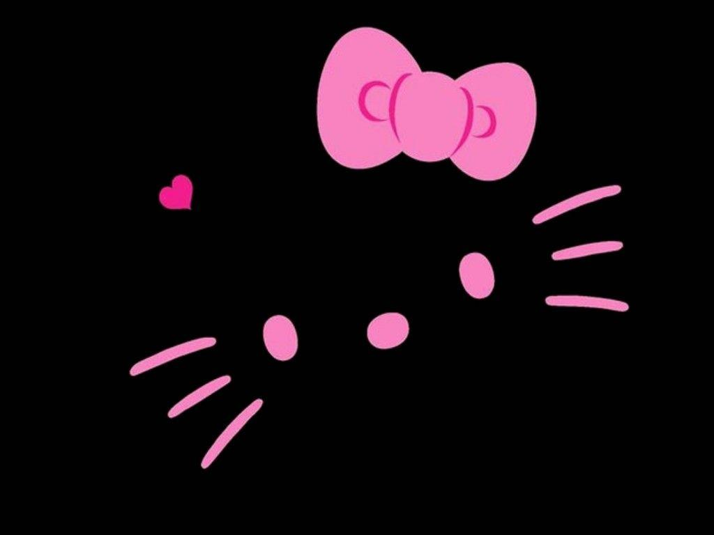 Pink And Black Hello Kitty Backgrounds - Wallpaper Cave