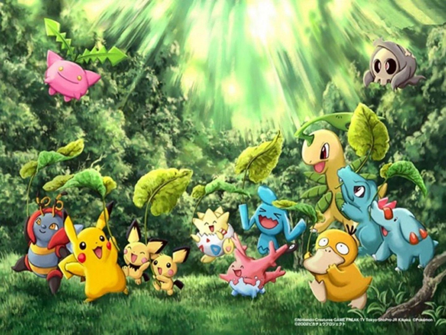Pokemon Hd Wallpapers Wallpaper Cave
