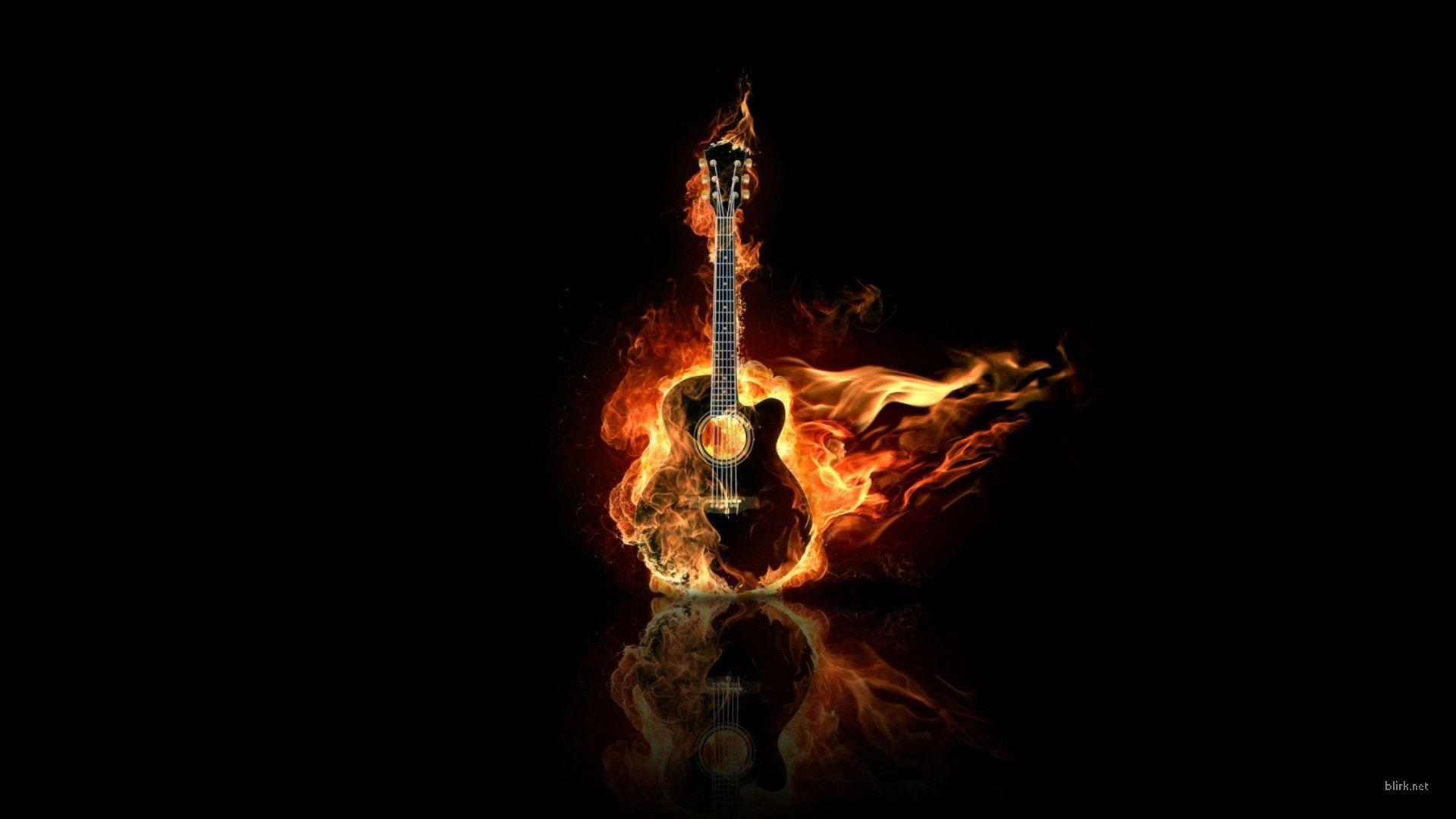 Wallpapers For > Guitar Wallpaper Hd