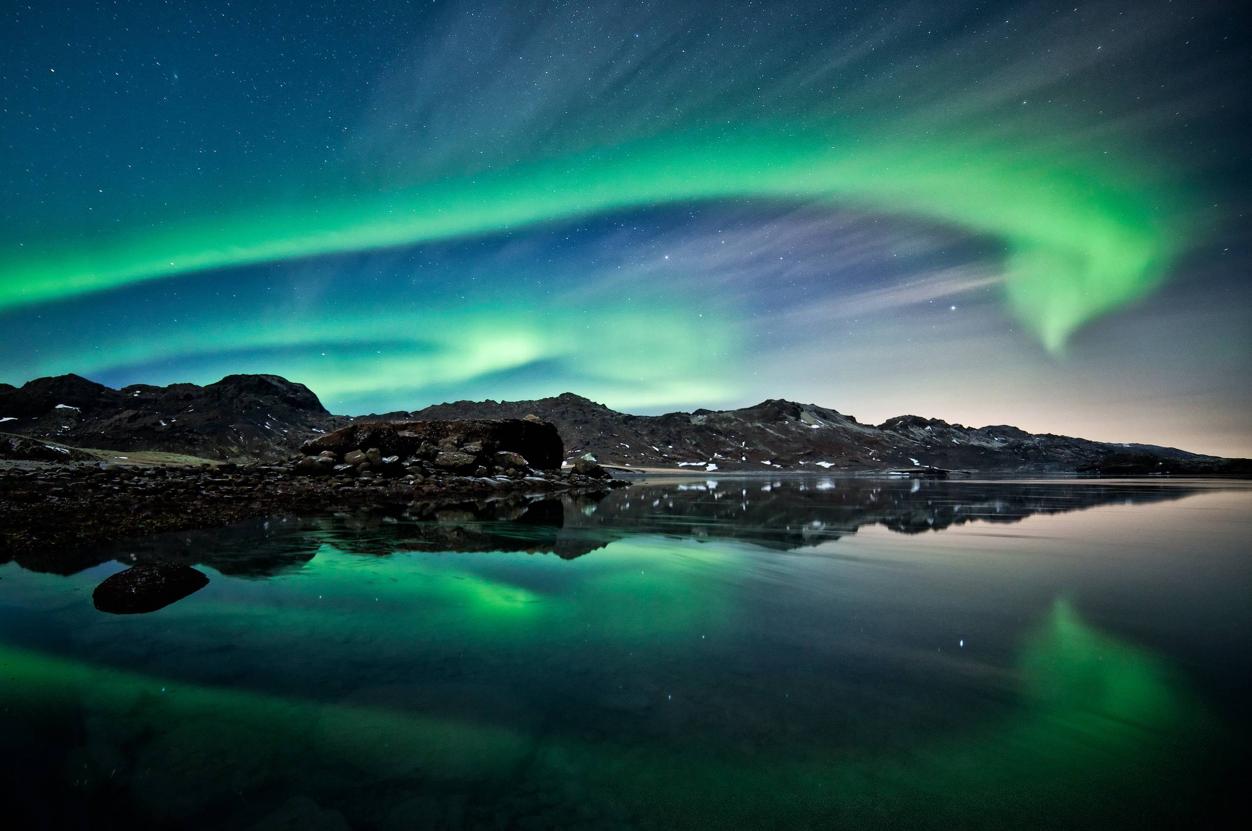 Aurora borealis wallpapers hd wallpaper cave for Foto spettacolari per desktop