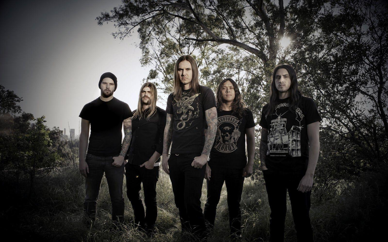 As I Lay Dying Metal Band Wallpapers