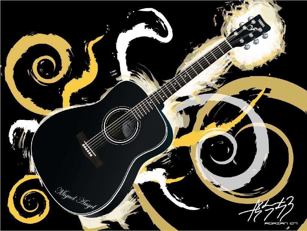 cool guitar wallpaper for - photo #38