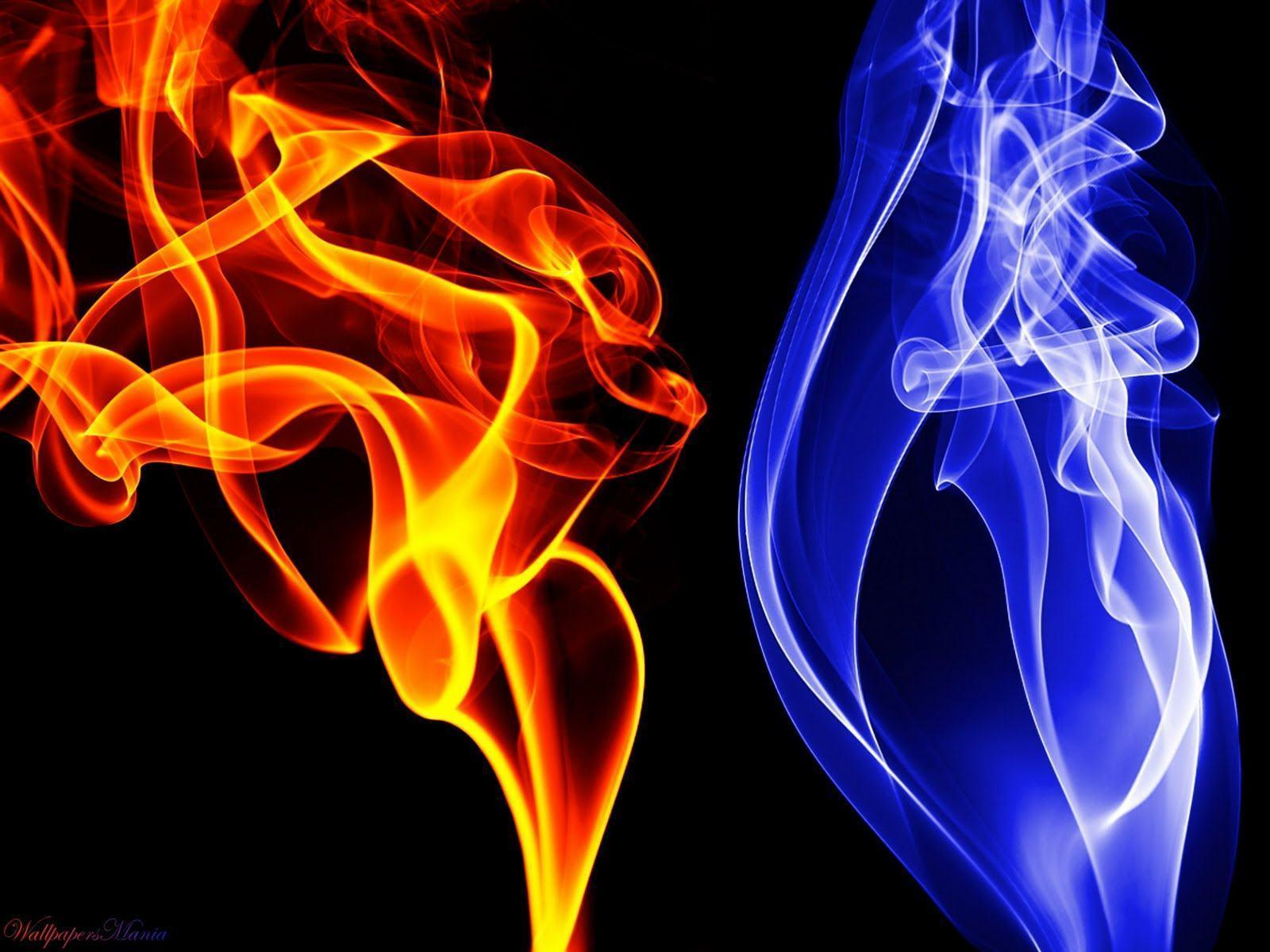 blue flame wallpapers wallpaper cave