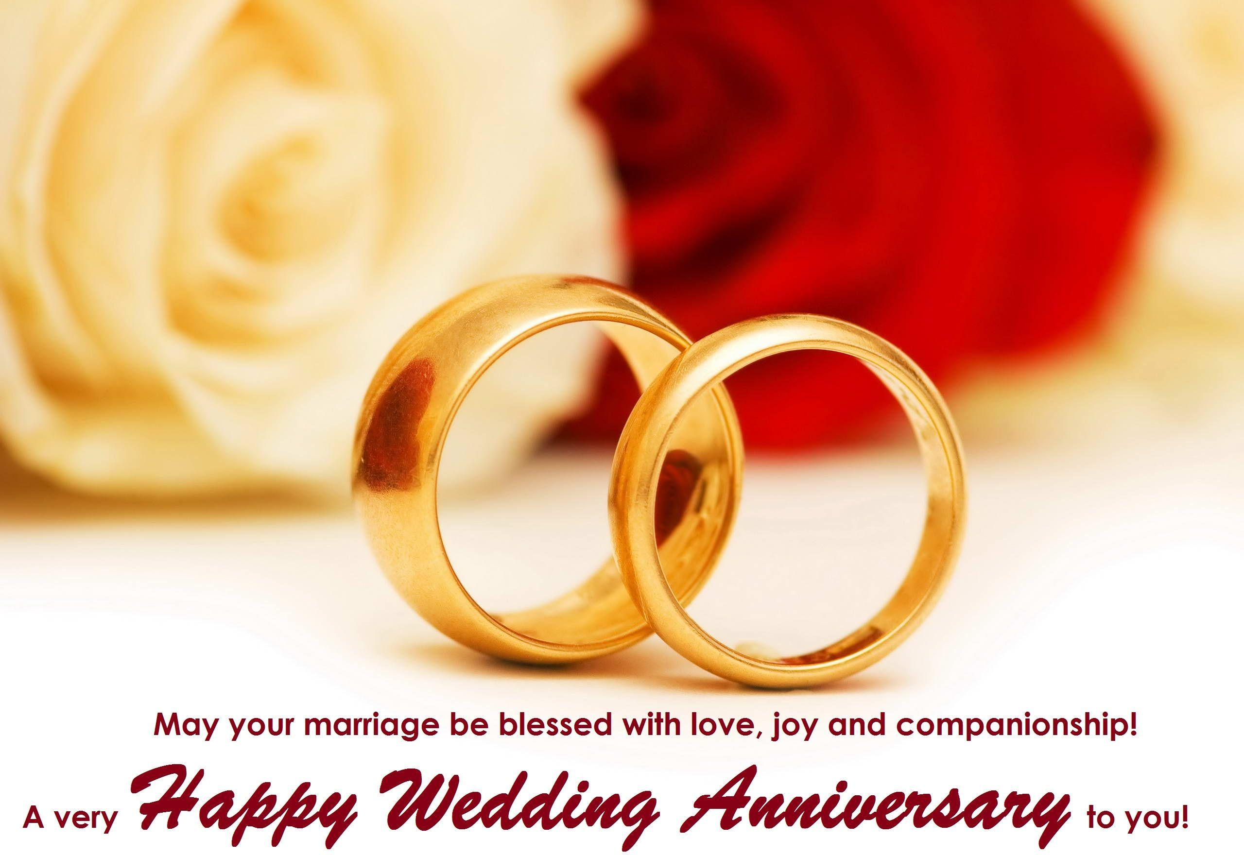 Happy wedding anniversary wishes wallpapers