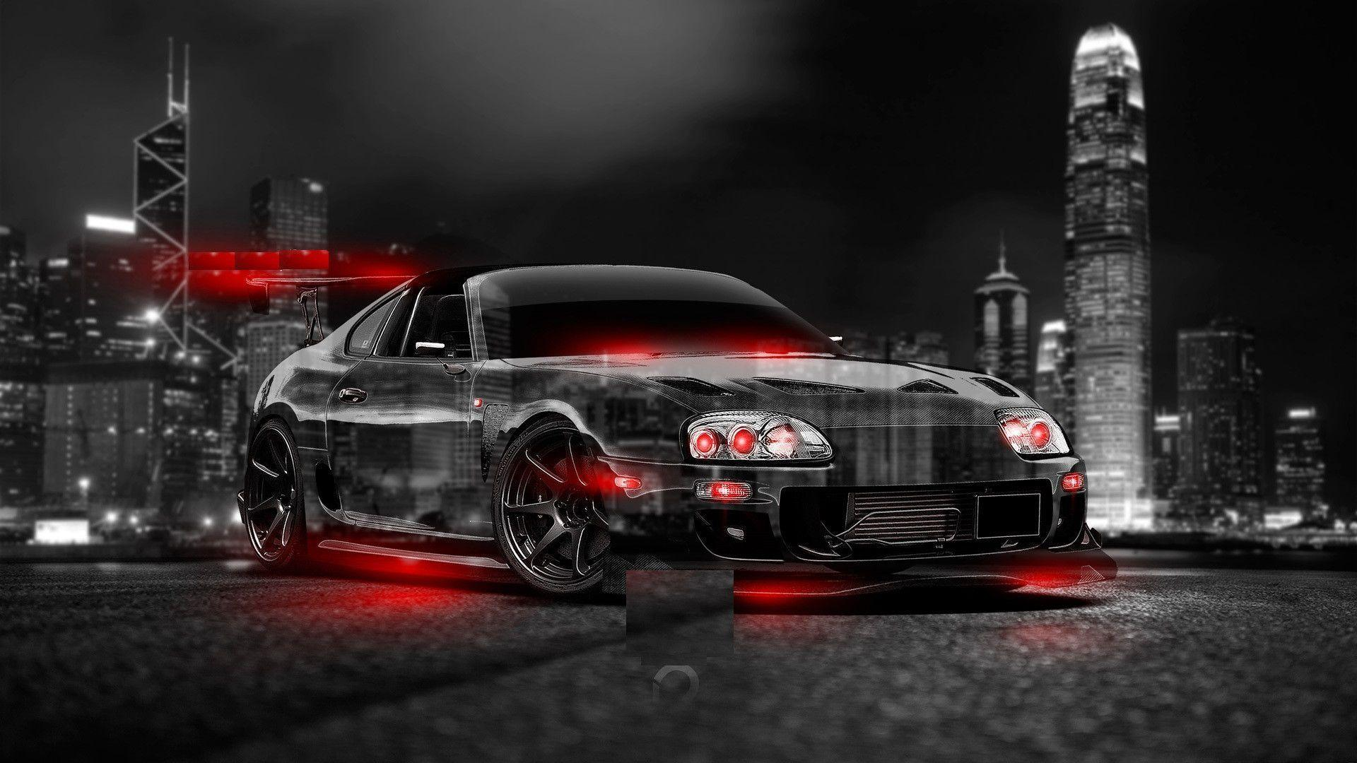 Abstract Black Toyota Supra Wallpapers Tumblr 2 Wallpapers