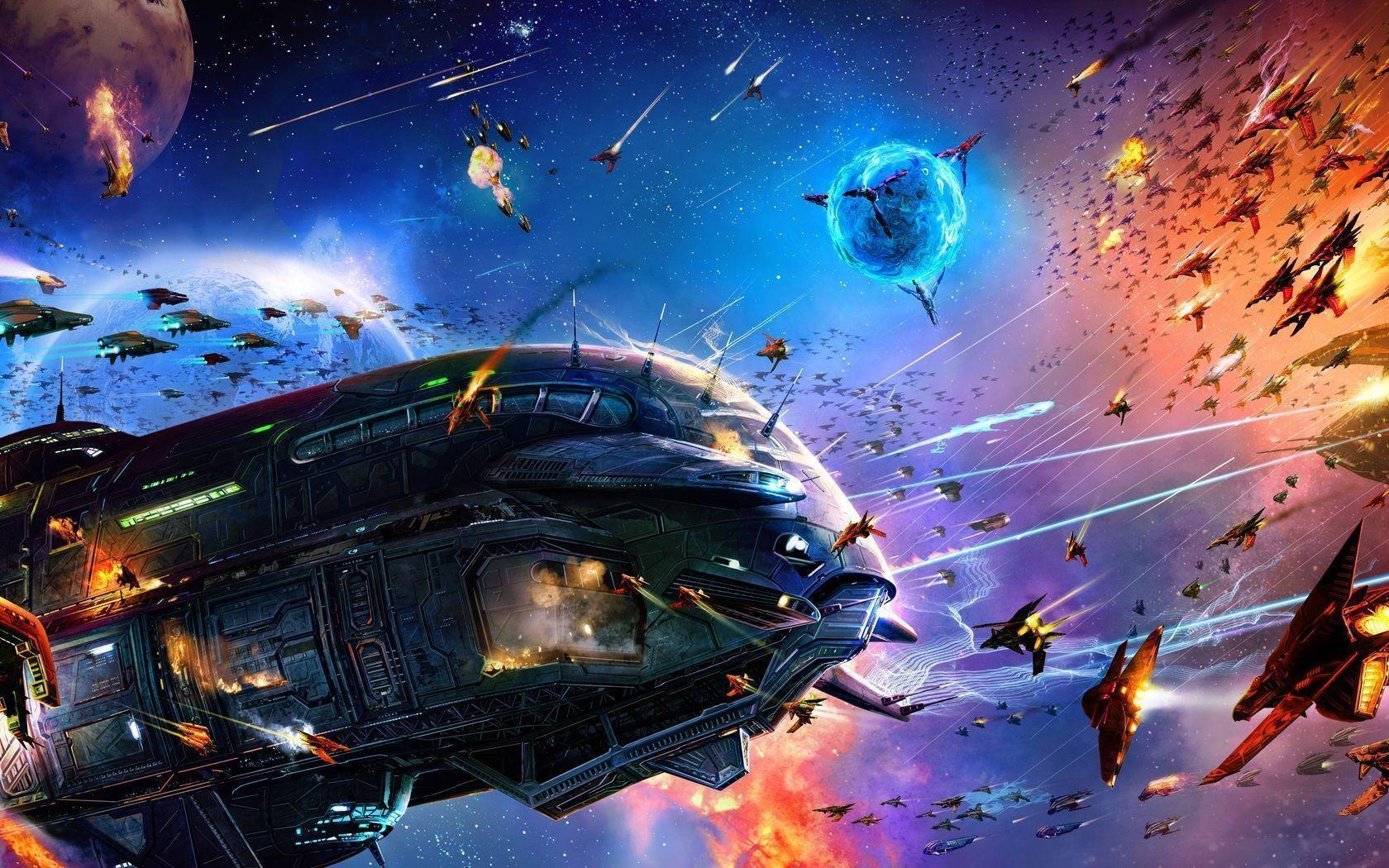 Sci Fi Spaceship Wallpaper 1680x1050 px Free Download ...