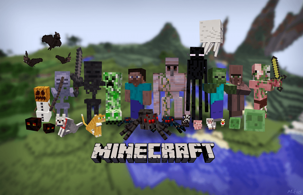 minecraft wallpaper 1920x1200 original - photo #5
