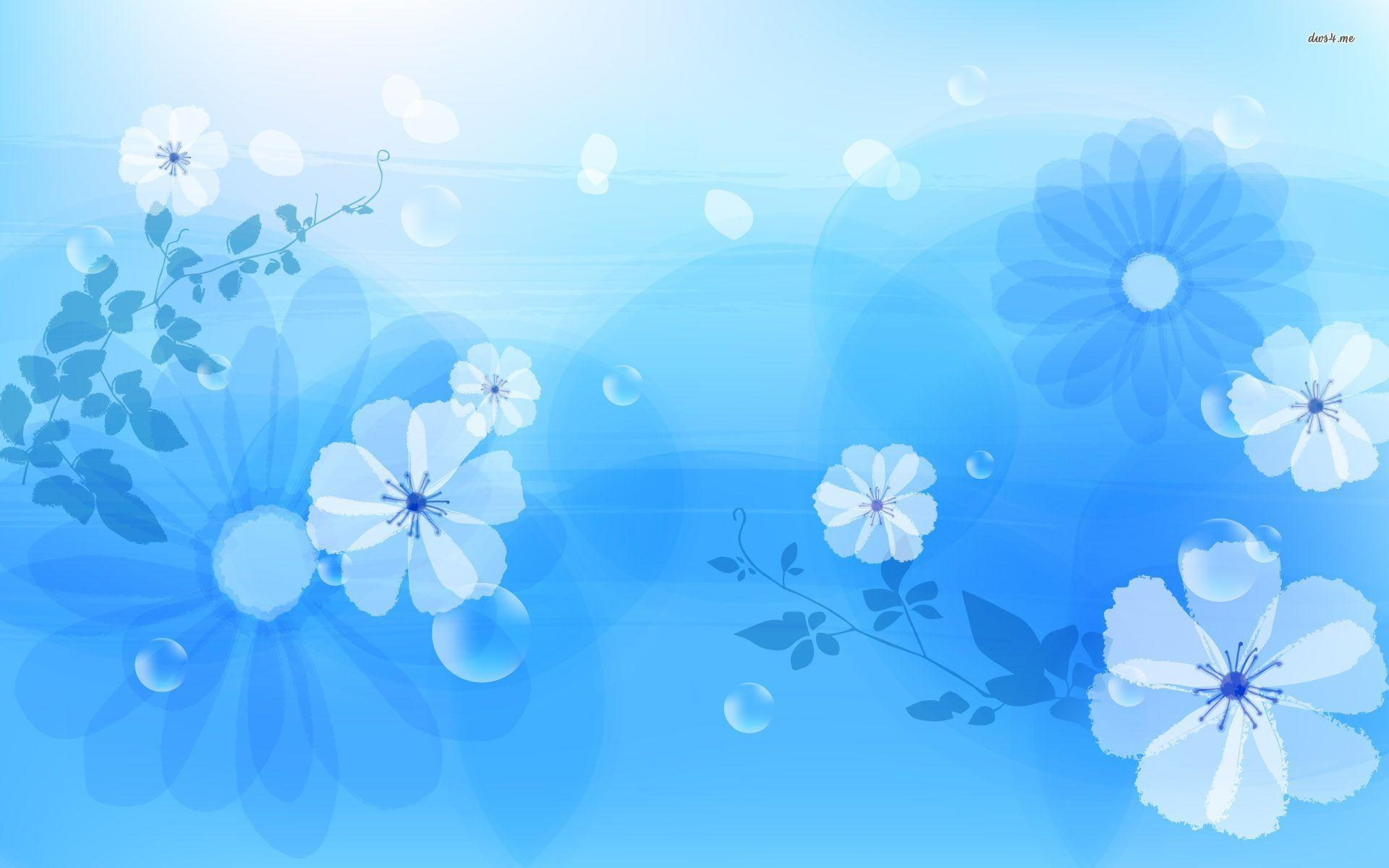 Blue flowers wallpapers wallpaper cave blue flower wallpaper hd mightylinksfo