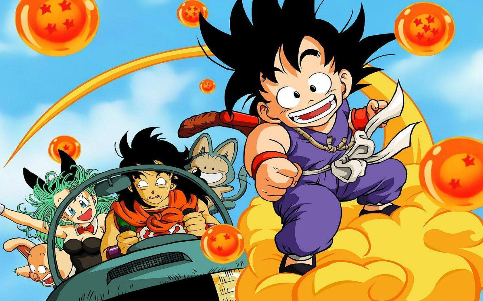 Kid Goku Wallpapers - Wallpaper Cave