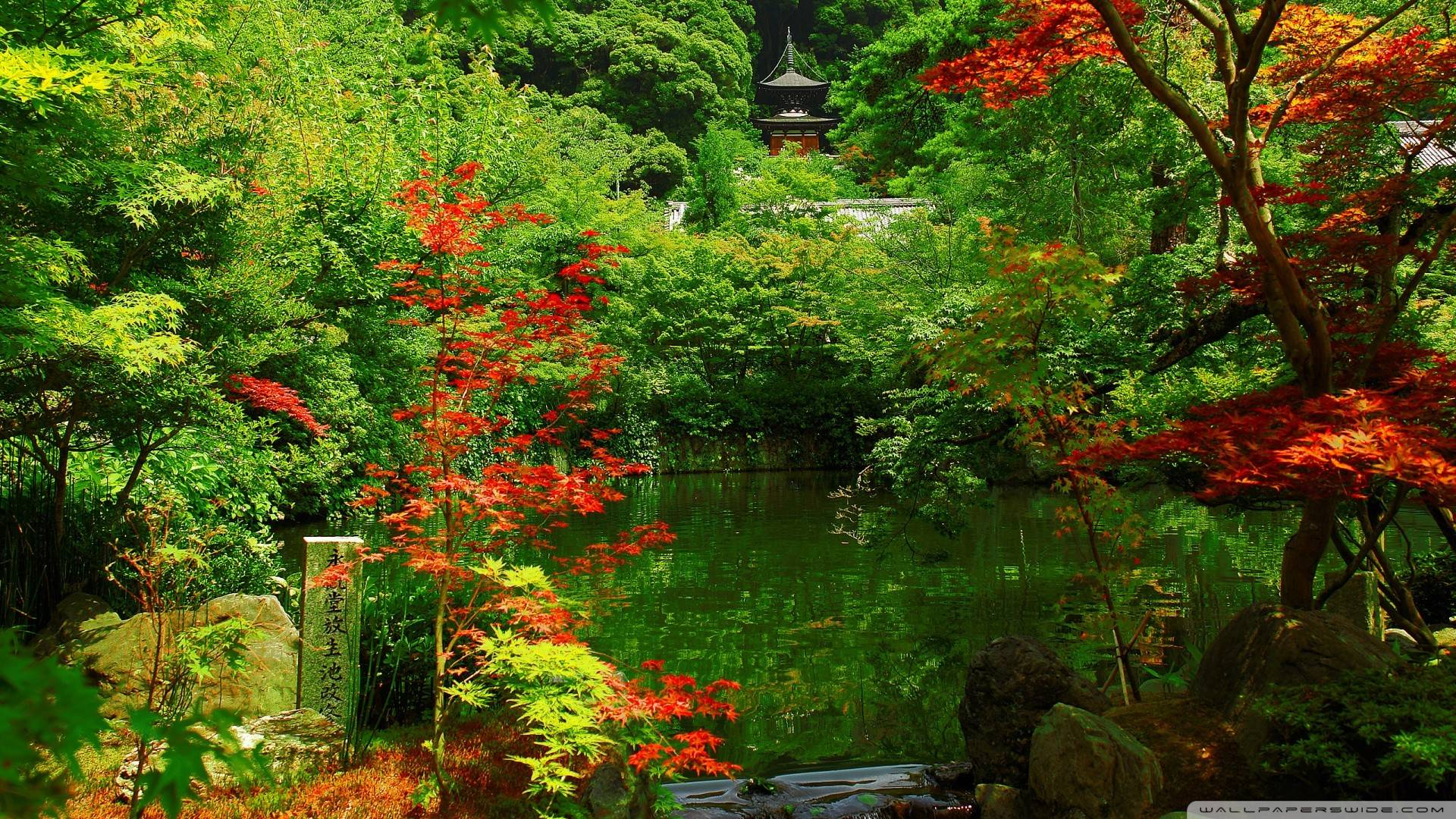 Japanese Garden Wallpapers: Wallpapers Japanese Garden