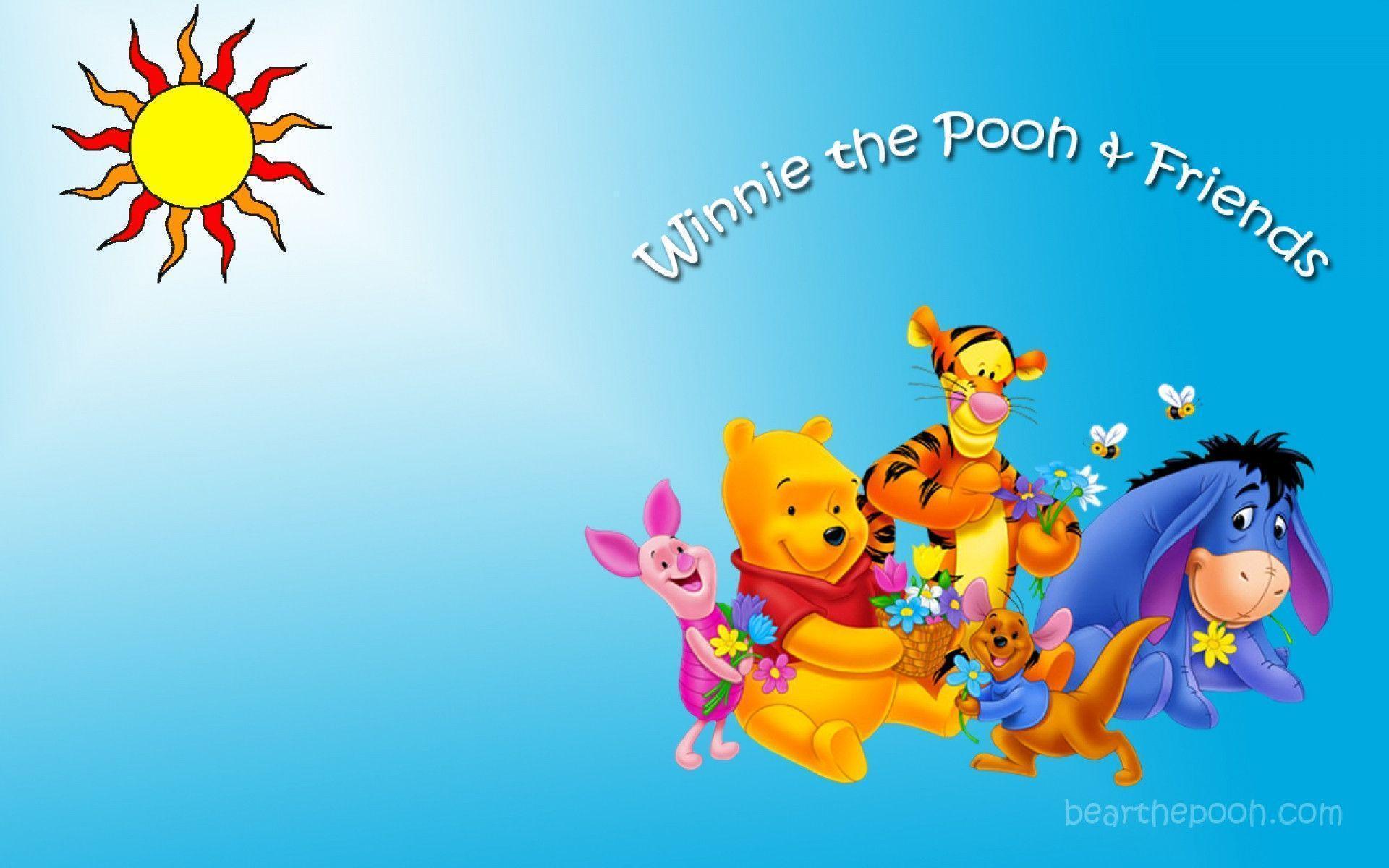 太陽 : 【ディズニー】くまのプーさん(Winnie-the-Pooh) PCデスクトップ壁紙 画像【高画質 ...